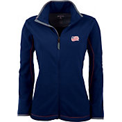 Antigua Women's New England Revolution Navy Ice Full-Zip Fleece Jacket