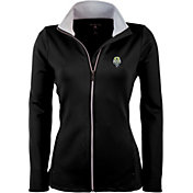 Antigua Women's Seattle Sounders Black Leader Full-Zip Jacket