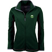Antigua Women's Portland Timbers Hunter Green Ice Full-Zip Fleece Jacket