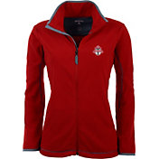 Antigua Women's Toronto FC Red Ice Full-Zip Fleece Jacket