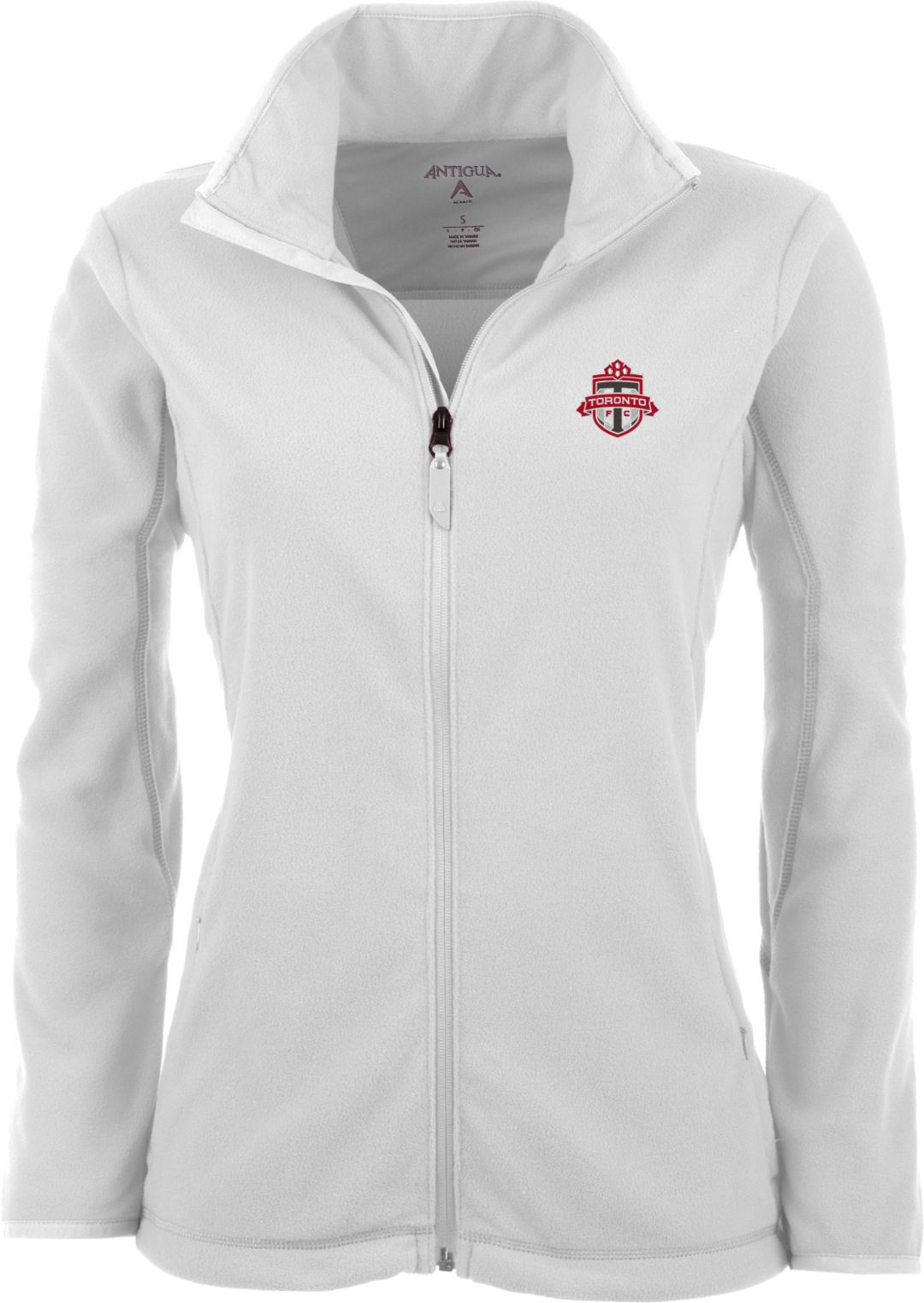 huge discount 3f0b9 28641 Antigua Women's Toronto FC White Ice Full-Zip Fleece Jacket
