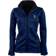 Antigua Women's Vancouver Whitecaps Traverse Navy Soft-Shell Full-Zip Jacket