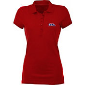 Antigua Women's Ole Miss Rebels Red Spark Polo