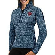 Antigua Women's Chicago Bears Fortune Navy Pullover Jacket