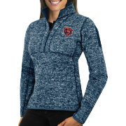 Antigua Women's Chicago Bears Fortune Navy Pullover Jacket