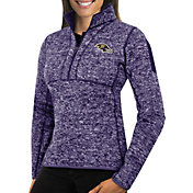 Antigua Women's Baltimore Ravens Fortune Purple Pullover Jacket