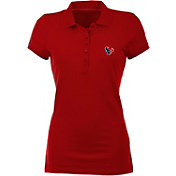 Antigua Women's Houston Texans Red Spark Polo