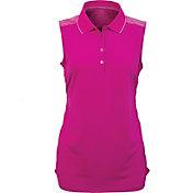 Antigua Women's Movement Sleeveless Golf Polo