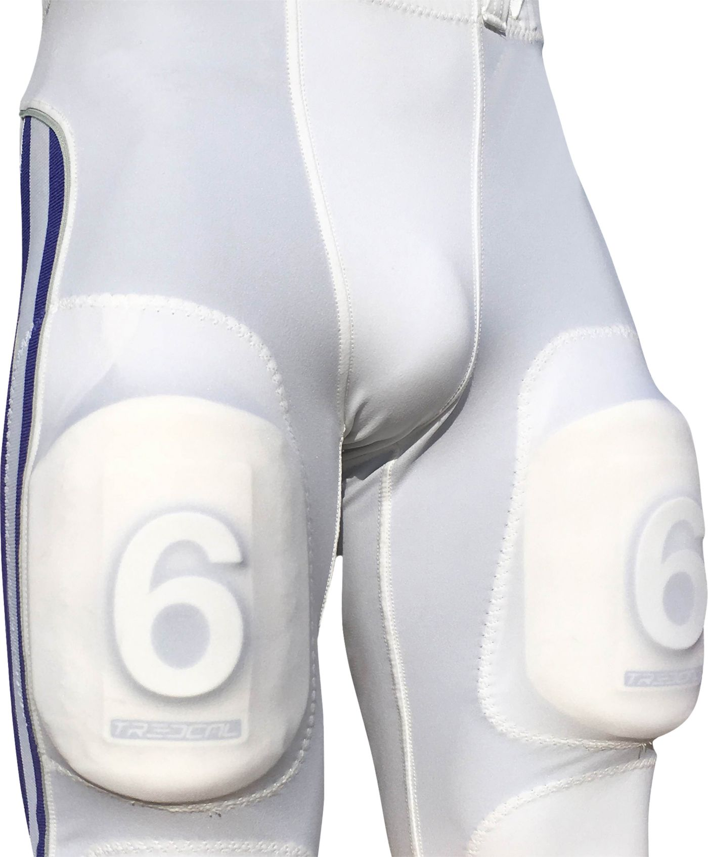 treDCAL Number Six Thigh Pad Football Decals