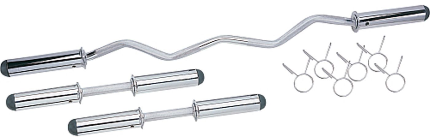 Apex Olympic Curl Bar and Dumbbell Handle Combo