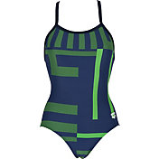 arena Women's Electron Smooth Racerback Swimsuit