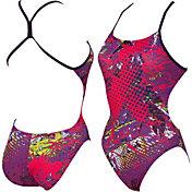 arena Women's Carioca High Challenge Back Swimsuit