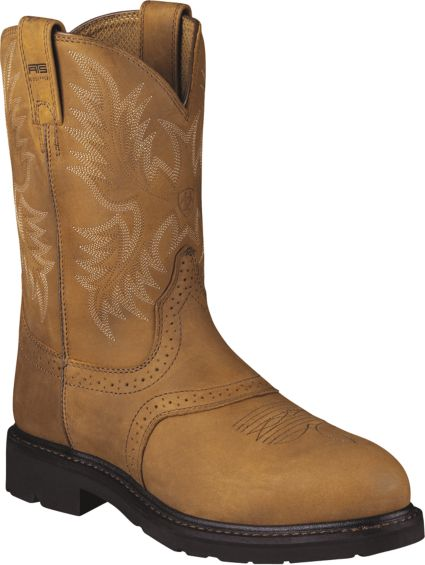 541e6389342 Ariat Men's Sierra Saddle Steel Toe Western Work Boots