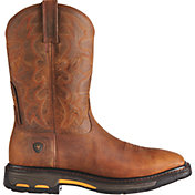 Ariat Men's Workhog Steel Toe Western Work Boots