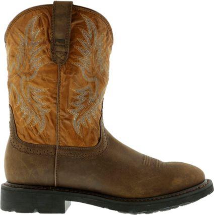 Ariat Men's Solder Steel Toe Work Boots