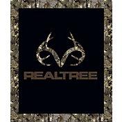 Realtree Logo Throw Blanket