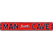 Authentic Street Signs Atlanta Braves 'Man Cave' Street Sign