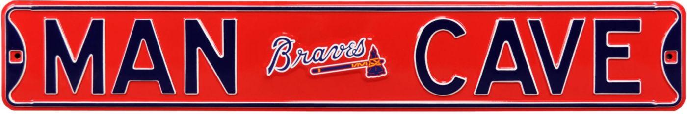 Authentic Street Signs Atlanta Braves 'Man Cave' Street Sign