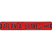 Authentic Street Signs Atlanta Braves Ave Sign