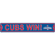 Authentic Street Signs 2016 World Series Champions 'Cubs Win!' Chicago Cubs Street Sign