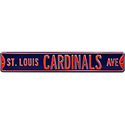 Authentic Street Signs St. Louis Cardinals Navy Avenue Sign