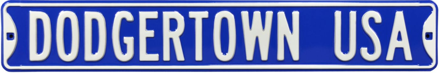 Authentic Street Signs Los Angeles Dodgers 'Dodgertown USA' Sign