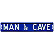 Authentic Street Signs Los Angeles Dodgers 'Man Cave' Street Sign