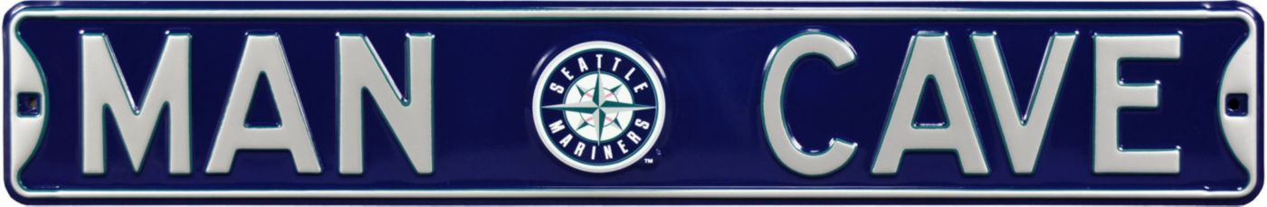 Authentic Street Signs Seattle Mariners 'Man Cave' Street Sign