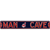Authentic Street Signs Cleveland Indians 'Man Cave' Street Sign