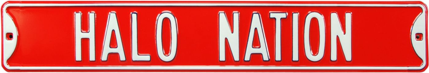 Authentic Street Signs Los Angeles Angels 'Halo Nation' Street Sign