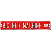 Authentic Street Signs Cincinnati Reds 'Big Red Machine Dr' Sign