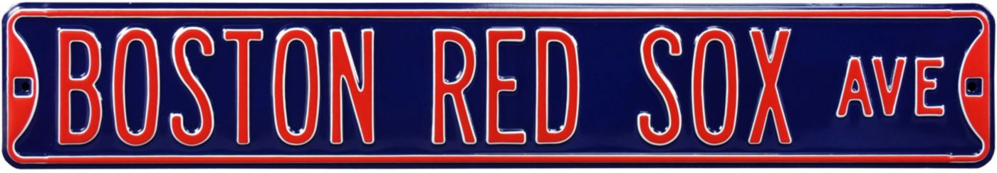 Authentic Street Signs Boston Red Sox Avenue Sign