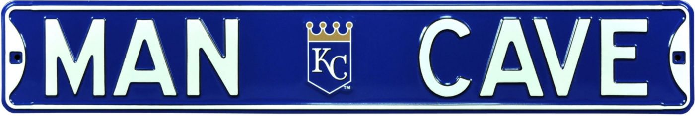 Authentic Street Signs Kansas City Royals 'Man Cave' Street Sign