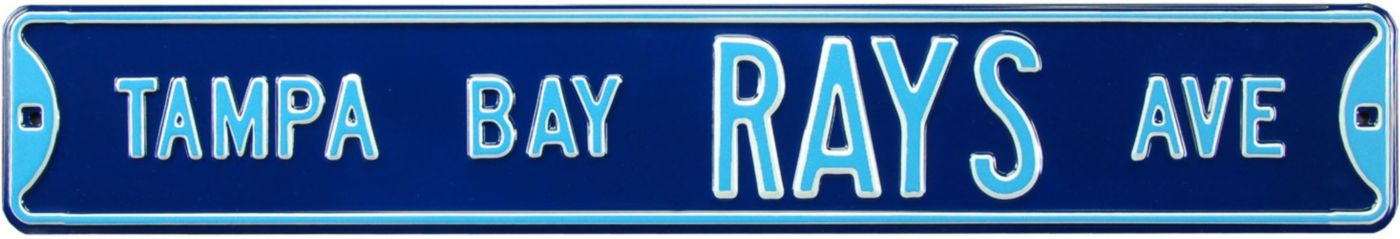 Authentic Street Signs Tampa Bay Rays Avenue Sign