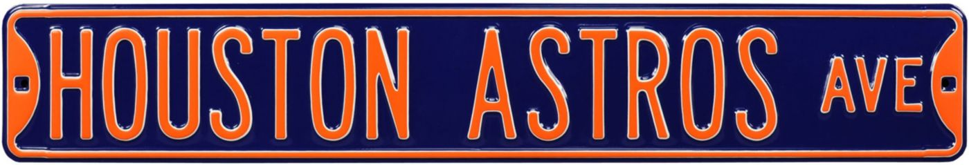 Authentic Street Signs Houston Astros Avenue Sign