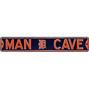 Authentic Street Signs Detroit Tigers 'Man Cave' Street Sign