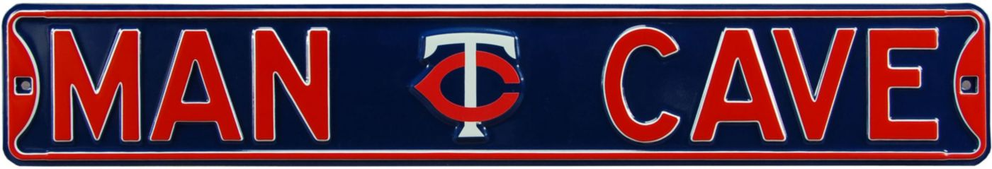 Authentic Street Signs Minnesota Twins 'Man Cave' Street Sign