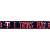 Authentic Street Signs Minnesota Twins '1 Twins Way' Street Sign