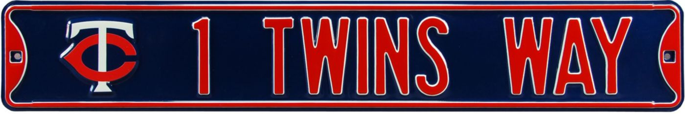Authentic Street Signs Minnesota Twins '1 Twins Way' Street Sign
