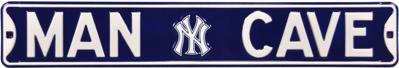 Authentic Street Signs New York Yankees 'Man Cave' Street Sign