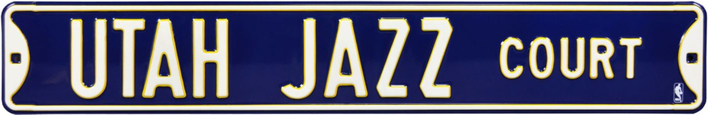 Authentic Street Signs Utah Jazz Court Sign