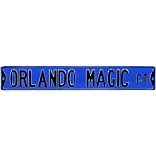 Authentic Street Signs Orlando Magic Court Sign