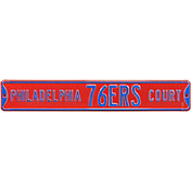 Authentic Street Signs Philadelphia 76ers Court Sign