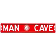 Authentic Street Signs Alabama Crimson Tide 'Man Cave' Street Sign