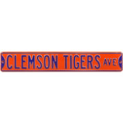 Authentic Street Signs Clemson Tigers Avenue Sign