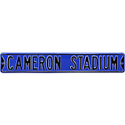 Authentic Street Signs Duke Blue Devils 'Cameron Stadium' Street Sign