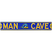 Authentic Street Signs Delaware Fightin' Blue Hens ?Man Cave' Street Sign