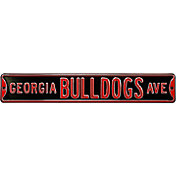 Authentic Street Signs Georgia Bulldogs Avenue Black Sign