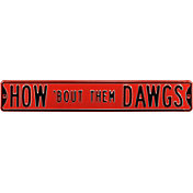 Authentic Street Signs Georgia Bulldogs 'How 'Bout Them Dawgs' Street Sign
