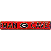 Authentic Street Signs Georgia Bulldogs 'Man Cave' Street Sign